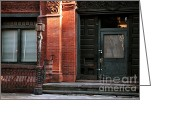 Door County Landmark Greeting Cards - Old Savannah Style Greeting Card by John Rizzuto