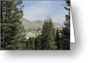 710 Greeting Cards - Overlook of Jackson Hole Greeting Card by Shawn Hughes