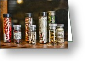 Pills Greeting Cards - Pharmacist  For All That Ails You Greeting Card by Paul Ward