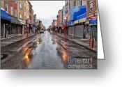 South Philadelphia Greeting Cards - Philadelphia South Street 2 Greeting Card by Jack Paolini