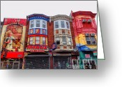 South Philadelphia Greeting Cards - Philadelphia South Street 4 Greeting Card by Jack Paolini
