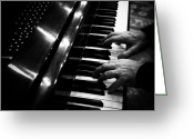 Steinway  Greeting Cards - Play me a song... Greeting Card by Natasha Marco