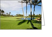 Scott Pellegrin Greeting Cards - Poipu Bay #18 Greeting Card by Scott Pellegrin