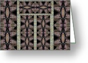 Image Repeat Greeting Cards - Practically Nothing Panel 2013 Greeting Card by James Warren