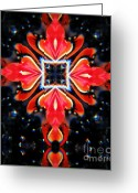 Symbolic Waiting Greeting Cards - Praise Him Greeting Card by Renee Trenholm