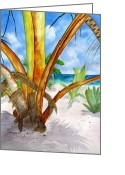 Carlin Greeting Cards - Punta Cana Greeting Card by Carlin Blahnik