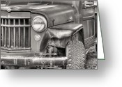 Antique Truck Greeting Cards - Pure American Greeting Card by JC Findley