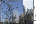 Angela Stanton Greeting Cards - Reflections of New York Greeting Card by Angela A Stanton