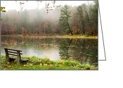 Upstate Ny Greeting Cards - Relaxing Beauty Greeting Card by Christina Rollo
