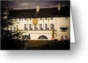 Rennie Greeting Cards - Rennie Mackintosh House for an Art Lover Greeting Card by Alan Oliver