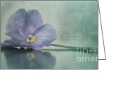 "\""floral Still Life\\\"" Greeting Cards - Resting Greeting Card by Priska Wettstein"