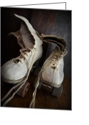 Antique Skates Greeting Cards - Roll Away Greeting Card by Michelle Calkins