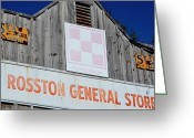 Store Fronts Greeting Cards - Rosston General Store Greeting Card by Danny Key