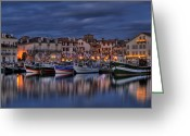 Luz Greeting Cards - Saint Jean De Luz Greeting Card by Karim SAARI