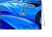 Twitter Greeting Cards - Scarab Roadsters 1958 Greeting Card by Jill Reger