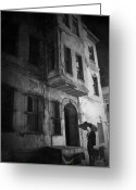 Film Noir Greeting Cards - Scene from a memory Greeting Card by Taylan Soyturk