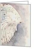 Lipton Greeting Cards - Seashell Sketch Greeting Card by Aprille Lipton