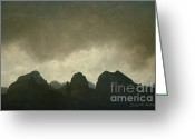 Image Overlay Greeting Cards - Sedona Landscape No. 6 Greeting Card by Dave Gordon
