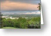 Vistas Greeting Cards - Shenandoah Valley After the Rain Greeting Card by Lara Ellis