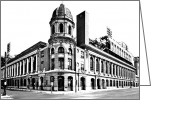 Philadelphia Phillies Greeting Cards - Shibe Park Greeting Card by Benjamin Yeager