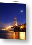 Marin Greeting Cards - Shine On... Greeting Card by Sean Foster