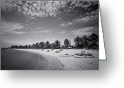 Smathers Beach Greeting Cards - Smathers Beach II Greeting Card by Scott Meyer