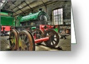 Shed Digital Art Greeting Cards - Spare parts Greeting Card by John Adams