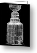 Stanley Cup Greeting Cards - Stanley Cup Greeting Card by Andrew Fare