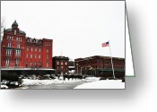 Bill Cannon Greeting Cards - Stegmaeir Brewery - Wilkes Barre Pa Greeting Card by Bill Cannon