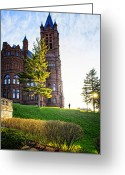 Syracuse Orange Greeting Cards - Syracuse University Greeting Card by Vicki Jauron