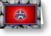 Infield Greeting Cards - Texas Rangers Greeting Card by Joe Hamilton