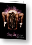 Implied Greeting Cards - The Arts Greeting Card by JT PhotoDesign