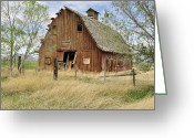 Daysray Photography Greeting Cards - the Barn  Greeting Card by Fran Riley