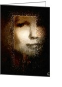 Face Shadow Greeting Cards - The easy way Greeting Card by Gun Legler