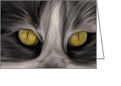 Angela Stanton Greeting Cards - The Eyes Have It Greeting Card by Angela A Stanton