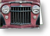 Antique Truck Greeting Cards - The Grill Greeting Card by JC Findley