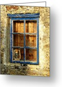 Oil Lamp Greeting Cards - The old fishermans house Greeting Card by Joe Cashin