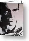 Movie Legend Greeting Cards - The One and Only Greeting Card by IDGoodall