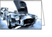 Carroll Shelby Photo Greeting Cards - The Shelby Cobra Greeting Card by Dyle Warren