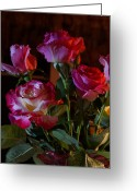 Mick Anderson Greeting Cards - These Roses Are For You Greeting Card by Mick Anderson