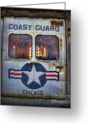 Chopper Greeting Cards - Through These Doors Dive Heroes  Greeting Card by Lee Dos Santos