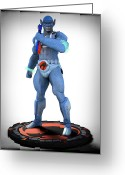 Thundercats Greeting Cards - Thundercats - 3000 - Panthro v1 Greeting Card by Frederico Borges