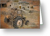 David Birchall Greeting Cards - Time Moved On Greeting Card by David Birchall