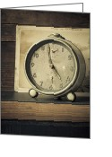 Hour Greeting Cards - Time Stood Still Greeting Card by Amy Weiss