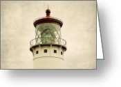 Scott Pellegrin Greeting Cards - Top of the Lighthouse Greeting Card by Scott Pellegrin