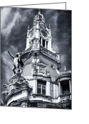 Sculptures For Sale Photo Greeting Cards - Tower Details Greeting Card by John Rizzuto