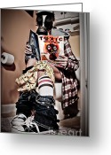 Toilet Paper Greeting Cards - Toxic Bathroom Time Greeting Card by Jt PhotoDesign