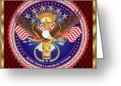 Congressmen Greeting Cards - Tribute-Disabled-American-Veteran-V-1 Greeting Card by Bill Campitelle