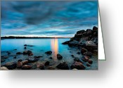 Canon 5d Mk2 Greeting Cards - Under a Brooding Sky Greeting Card by Dustin Abbott