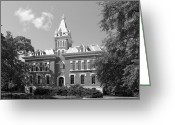 Civil Greeting Cards - Vanderbilt University Benson Old Central Greeting Card by University Icons